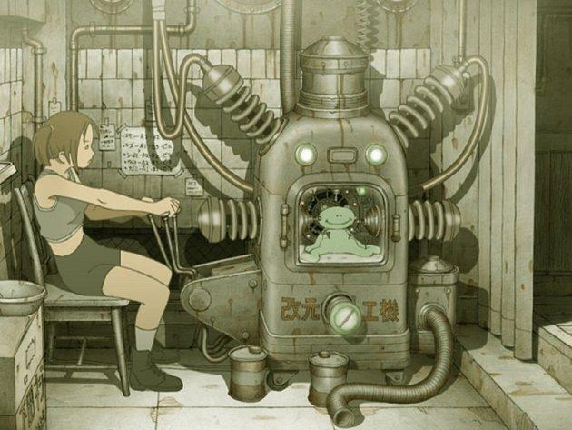 INDUSTRIÁLNÍ DIKTATURA. Streampunkový příběh Tou Jin Kit je součástí animovaného pentacyklu Genius Party Beyond.