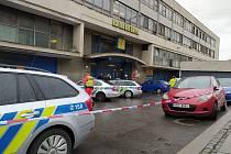 Na poště u hlavního nádraží byla dnes nahlášena bomba