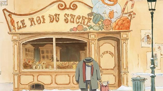 Animovaná pohádka O myšce a medvědovi uspěla na Mezinárodním filmovém festivalu v Cannes 2012, kde v sekci Director's Fortnight získala cenu SACD pro nejlepší francouzsky mluvený film. V Brně jej diváci mohou zhlédnout 14. dubna