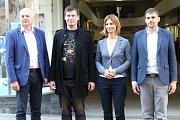 Zástupci ODS, KDU-ČSL, ČSSD a Pirátů představili společné priority pro nadcházející volební období.