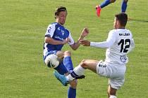 V posledním vzájemném souboji na konci května vyhráli fotbalisté Vlašimi v Líšni 2:0.