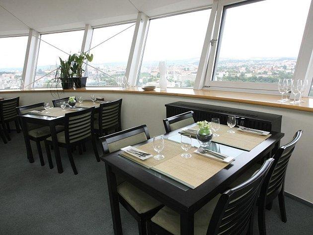 Restaurace Café Restaurant M-Palác.
