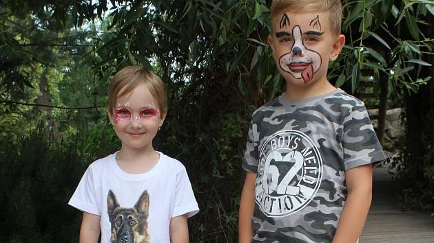Dětský den s úsměvem v brněnské zoologické zahradě.