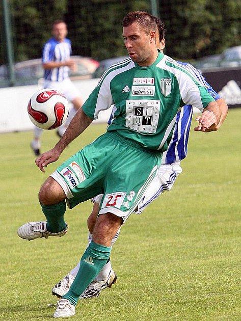 Fotbalista Daniel Břežný.