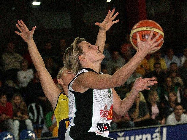 Hana Horáková, kapitánka reprezentace a opora týmu Frisco Sika Brno.