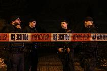 Zásah policistů v okolí botanické zahrady a arboreta Mendelovy univerzity v Brně. V březnu tam našli zavražděnou studentku.