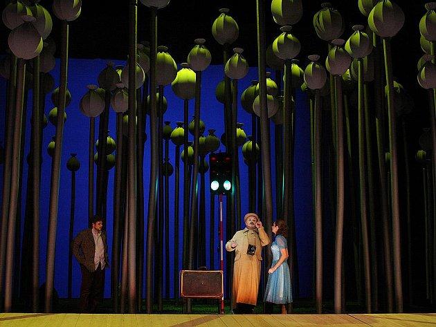 Scénu k opeře Julliette Bohuslava Martinů, která měla premiéru 27.3. 2009, navrhl Daniel Dvořák.
