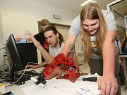 Studenti středních škol na druhém ročníku soutěže Merkur perFEKT Challenge.