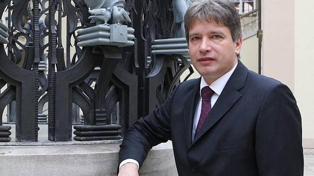 Primátor Brna Roman Onderka.