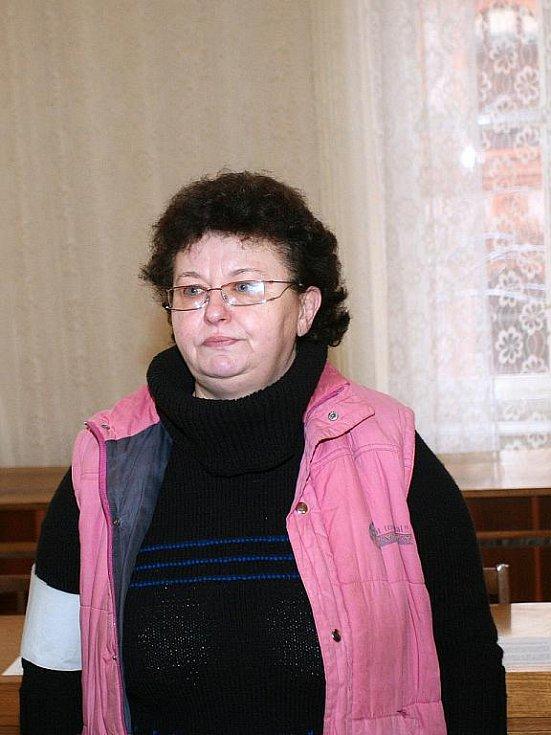Matka, která si měla objednat vraždu svého syna.