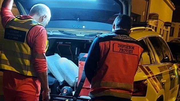 Útočník vpondělí vpodvečer řádil vTišnově na Brněnsku.