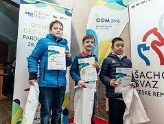 Jihomoravská výprava veze zOlympiády dětí a mládeže dvanáct medailí.