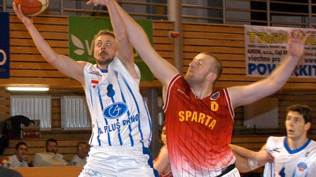 Pavel Prach z A Plus Brno (vlevo)