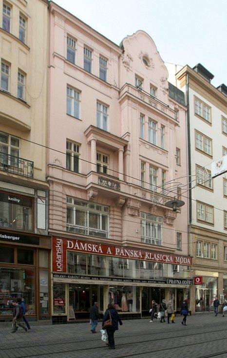 Dům určený ke směně za pozemky pro stavbu stadionů za Lužánkami - Masarykova ulice 4.