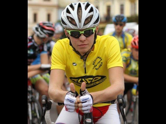 Cyklista Daniel Turek.
