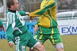 Fotbalisté Mutěnic si z Bystrce odváží první jarní bod za remízu 1:1.