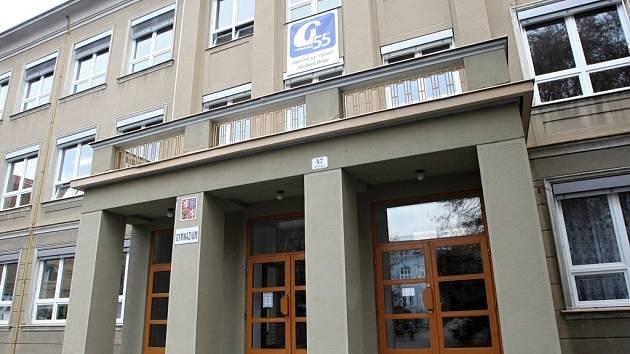 Gymnázium ve Vídeňské ulici v Brně.