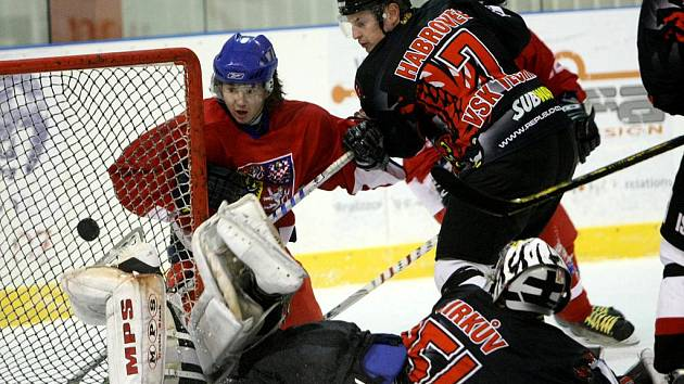 Hokejoví akademici rozstříleli Techniku 10:3.