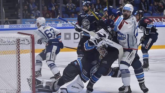 Hokejisté Brna porazili Liberec 7:4 a dotáhli se na první Třinec