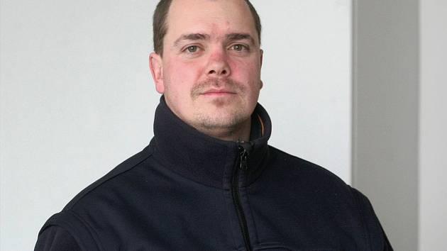 Preventista brněnského dopravního podniku Pavel Schuster.