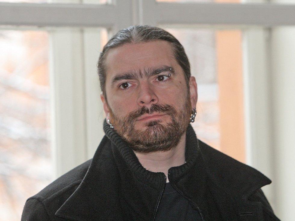 Daniel Gregorovič před soudem.
