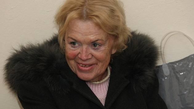 Alena Kubáčová u Krajského soud v Brně.