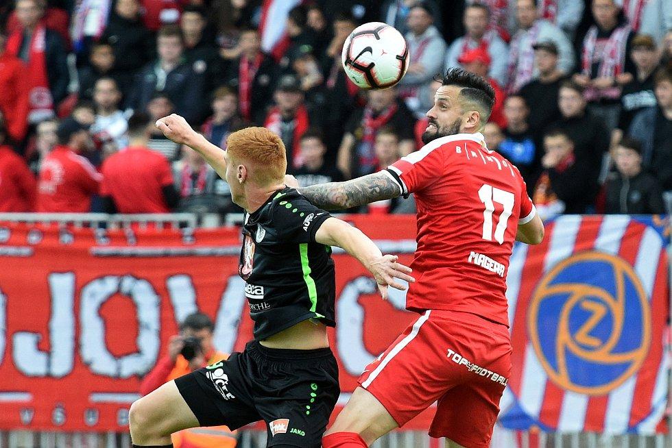Zápasy fotbalové Zbrojovky. Ilustrační foto.
