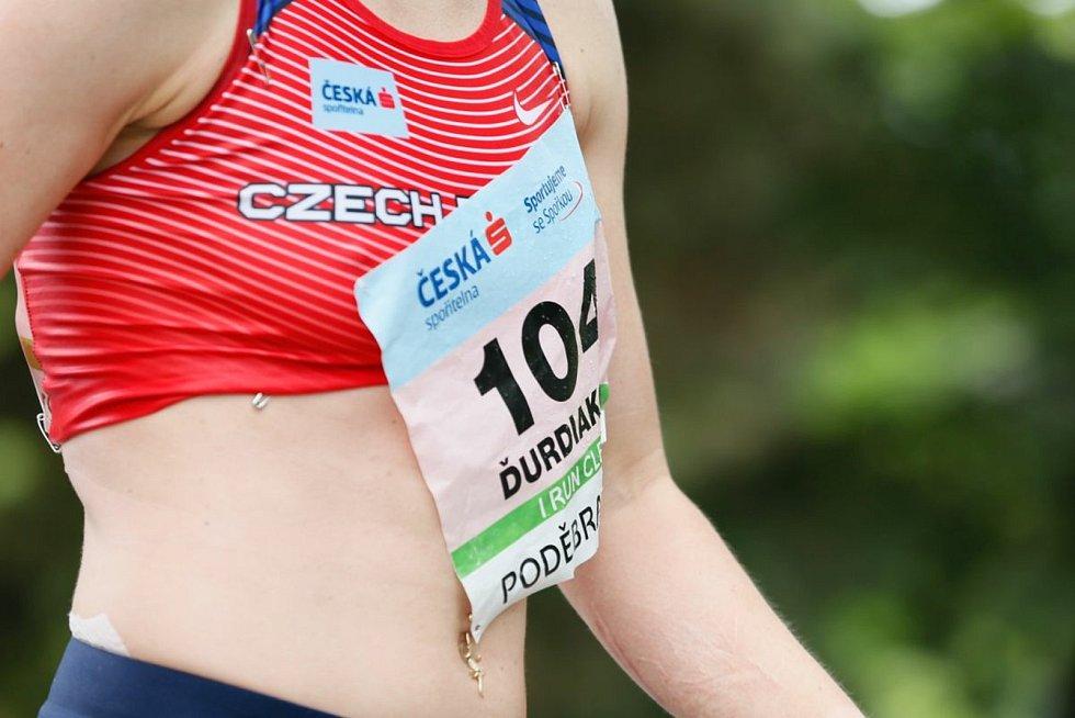 Tereza Ďurdiaková skončila na květnovém evropském šampionátu družstev v Poděbradech v chůzi na 35 kilometrů devátá. Foto: podebrady-walking.cz