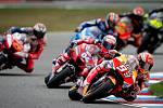 Finálový závod MotoGP Velká cena České republiky, závod mistrovství světa silničních motocyklů v Brně 4. srpna 2019. Na snímku (vpravo) Marc Marquez (SPA).