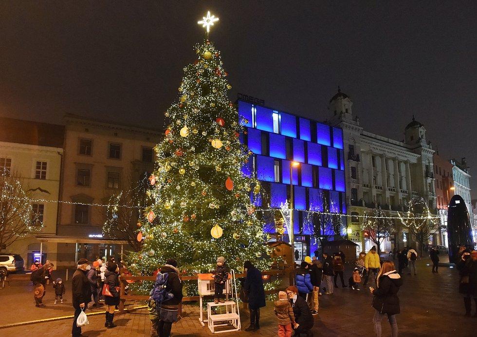 Brno 27.11.2020 - náměstí Svobody