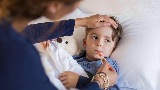 Většinu pacientů nyní tvoří školkové děti a děti mladšího školního věku.