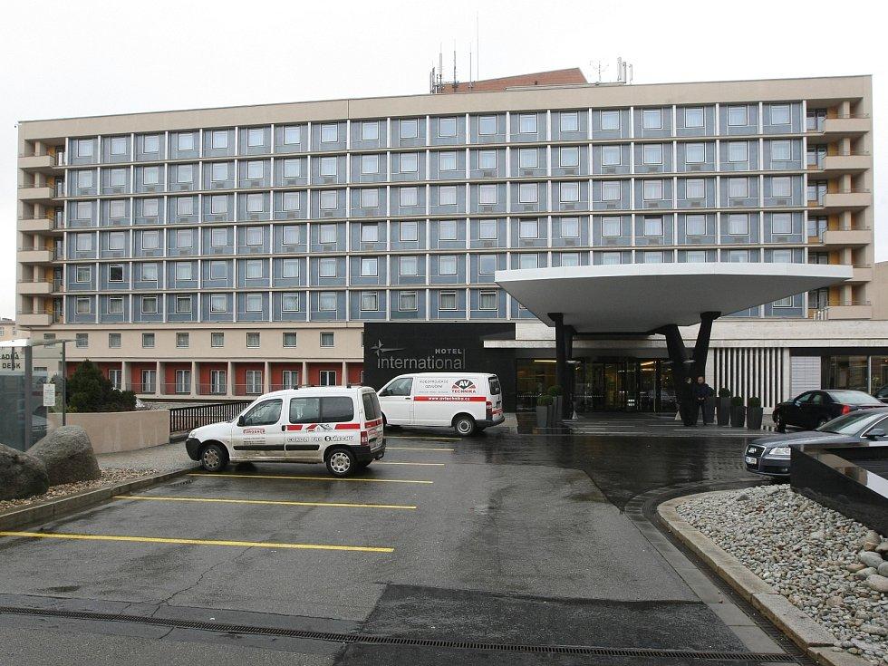 Brněnský hotel International. Ilustrační foto.
