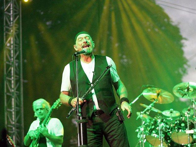 Ve Slavkově u Brna zahrála londýnská kapela Jethro Tull.