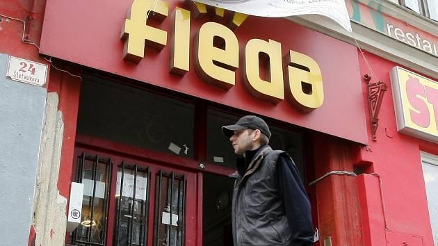 Hudební klub Fléda v Brně.