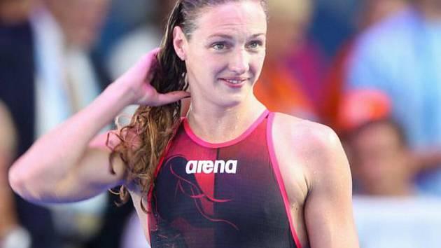 Největší ženská ikona plavání Katinka Hosszúová.