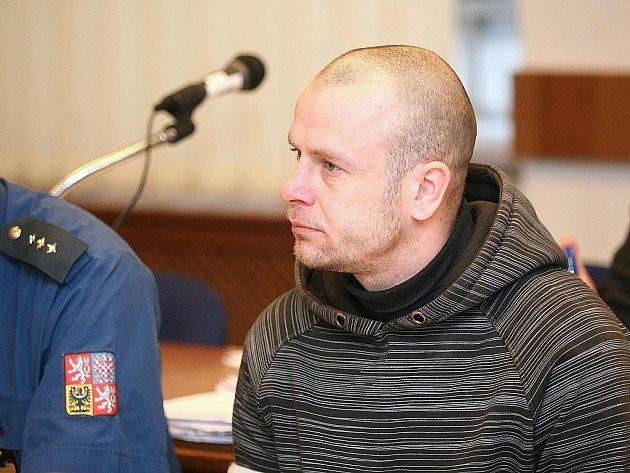 Jan Peprna u brněnského soudu.