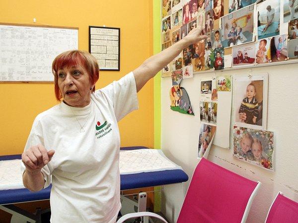 Fyzioterapeutka Emilie Vallová.