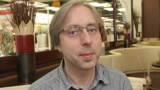 Národní protidrogový koordinátor a ředitel Odboru protidrogové politiky Úřadu vlády České republiky Jindřich Vobořil.