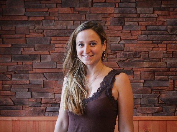 Studentka, cestovatelka a nově ispisovatelka Tereza Mrvová.