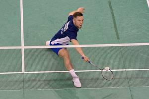 Adam Mendrek patří dlouhodobě mezi nejlepší české badmintonisty.