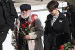 Brno 5.3.2019 - pohřeb Jiřího Pechy na Ústředním hřbitově v Brně - na snímku Arnošt Goldflam