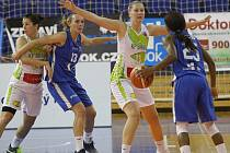 Basketbalistky KP Brno v EuroCupu. Ilustrační foto.