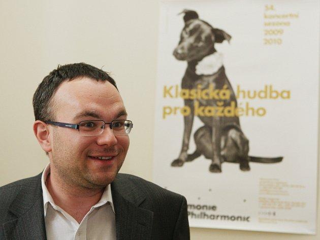Bývalý ředitel brněnské filharmonie David Mareček.