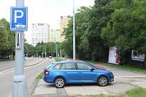 V brněnské Purkyňově ulici má vzniknout nové záchytné parkoviště s víc než šesti sty místy..