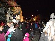 V Pohořelicích se lidé sešli při akci Česko zpívá koledy.