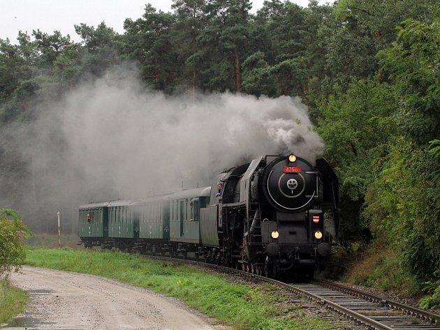 Lokomotivy, které vyjedou na trať u příležitosti oslav výročí Vlárské dráhy.