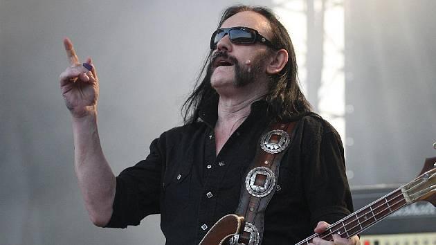 Heavy metalová kapela Motörhead na brněnském Velodromu.