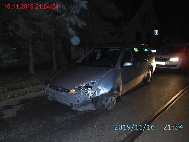 Opilý řidič v Maloměřicích.
