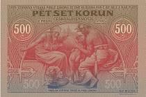 Radnice v Ivančicích na Brněnsku vydala ke 160. výročí narození slavného rodáka, malíře Alfonse Muchy, ve spolupráci s ČNB pětisetkorunovou bankovku s jeho kresbami.