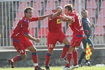 Brno porazilo v prvním domácím zápase mistrovskou Slávii 2:0.